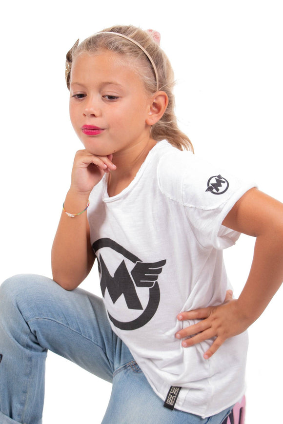 M LOGO MATT T-SHIRT KIDS