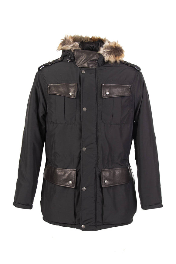 SMITH NYLON PARKA MAN