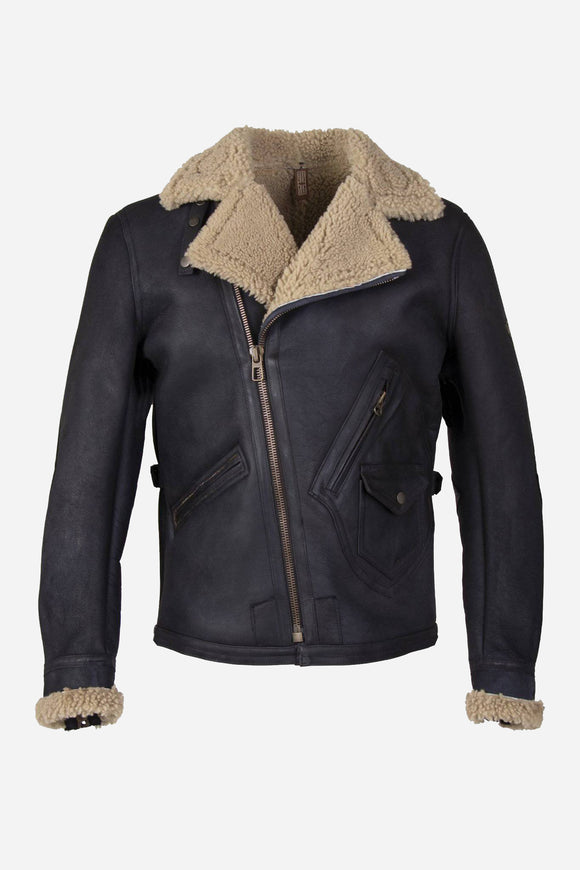 FOKKER JACKET MAN BLACK