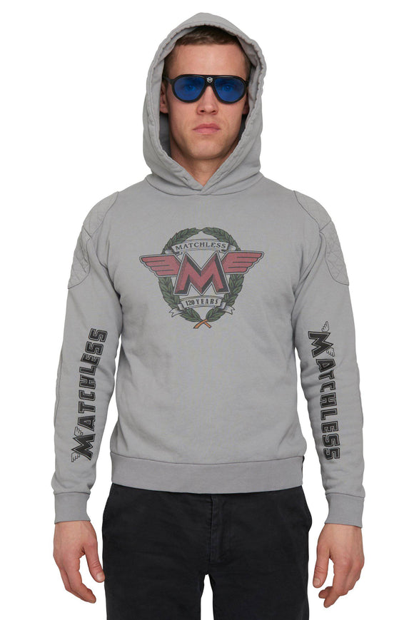 PLUMSTEAD HOOD SWEATSHIRT 120 YEARS MAN