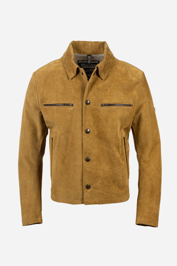 NEW PILOT JACKET MAN ANT. YELLOW