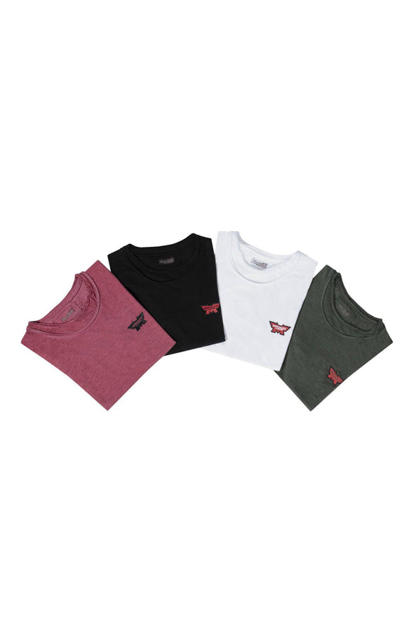 4 PACK BASIC M T-SHIRT MAN