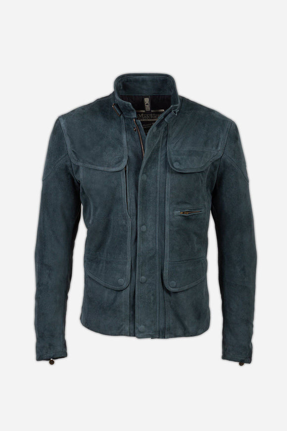KENSINGTON SUEDE JACKET MAN