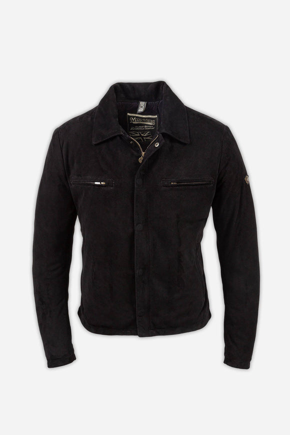 NEW PILOT JACKET MAN SUEDE