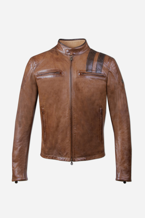OSBORNE BLOUSON RACE EDITION MAN BROWN