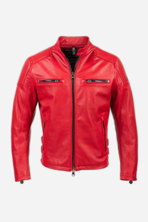 MARLON BLOUSON MAN RED