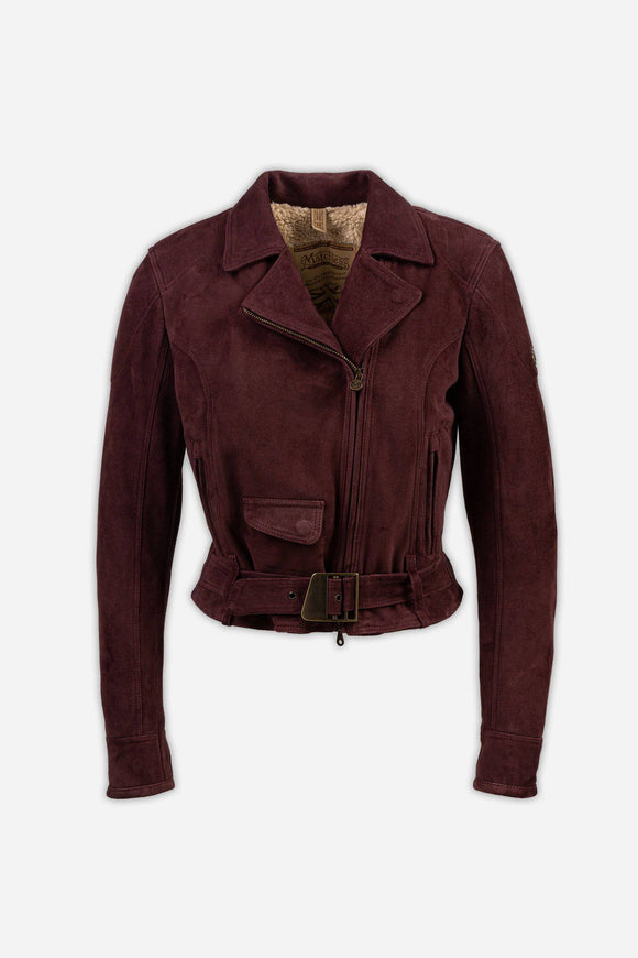 NEW WILD ONE BLOUSON SUEDE LADY