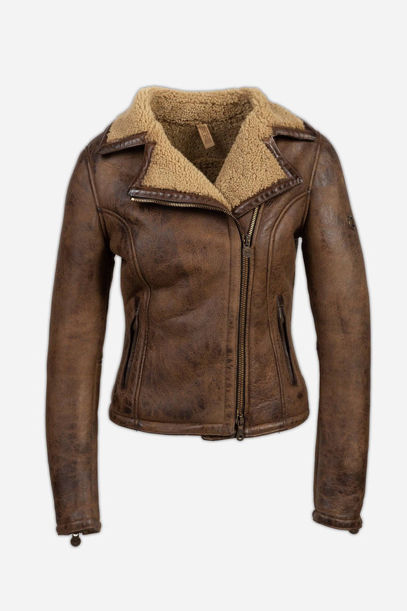 NEW KATE SHEARLING BLOUSON LADY