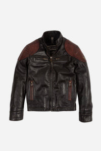 OSBORNE QUILTED BLOUSON JUNIOR BLACK