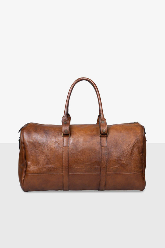 MARLON LARGE BAG ANTIQUE CUERO