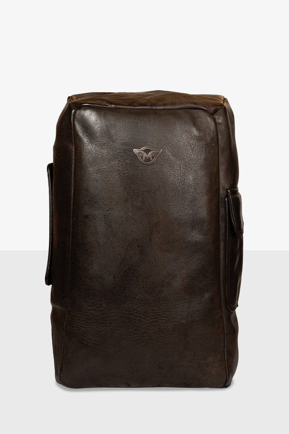 SEAL LEATHER BAGPACK