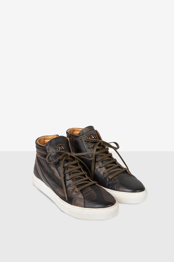 SMITH SNEAKERS CAMOUFLAGE MAN