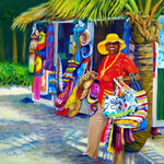 Bahamian Beach Bag Vendor