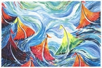 Swirling Sailboats