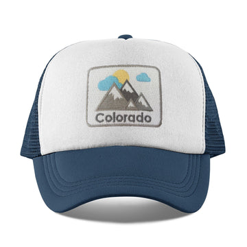 Colorado Kid's Trucker Hat (Ages 1-10) - Colorado Snapback Infant Hat / Toddler Hat  / Kid's Hat
