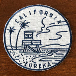 California Patch - 100% Embroidery Sew or Iron-on State DesignCalifornia Patch (2.5 inches wide)