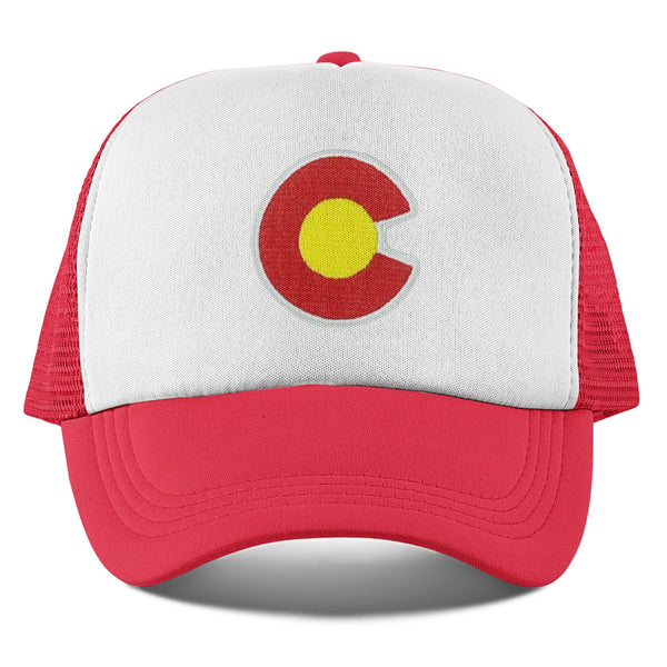 Colorado Toddler Trucker Hat (Ages 2-12) - Colorado Snapback Infant Hat / Youth Hat  / Kid's Hat