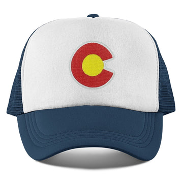 Colorado Toddler Trucker Hat (Ages 2-10) - Colorado Snapback Toddler Hat / Kid's Hat