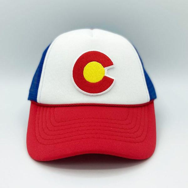 Colorado Infant Trucker Hat (Ages 6m - 18m) - Snapback Colorado Baby Hat