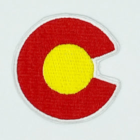 Colorado Patch - 100% Embroidered Sew or Iron-on Colorado Patch (2in)