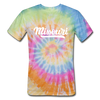 Missouri Tie-Dye T-Shirt - Hand Lettered Missouri Unsex T Shirt - rainbow