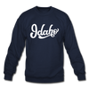 Idaho Sweatshirt - Hand Lettered Idaho Crewneck Sweatshirt - navy