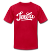 Iowa T-Shirt - Hand Lettered Unisex Iowa T Shirt - red