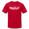 Maryland T-Shirt - Hand Lettered Unisex Maryland T Shirt - red