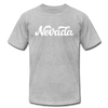 Nevada T-Shirt - Hand Lettered Unisex Nevada T Shirt - heather gray