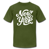New York T-Shirt - Hand Lettered Unisex New York T Shirt - olive