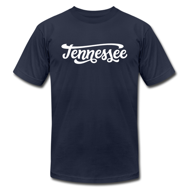 Tennessee T-Shirt - Hand Lettered Unisex Tennessee T Shirt - navy