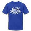 South Dakota T-Shirt - Hand Lettered Unisex South Dakota T Shirt - royal blue
