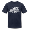 South Dakota T-Shirt - Hand Lettered Unisex South Dakota T Shirt - navy