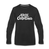 North Carolina Long Sleeve T-Shirt - Hand Lettered Unisex North Carolina Long Sleeve Shirt - black