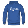 Florida Hoodie - Hand Lettered Unisex Florida Hooded Sweatshirt - royal blue