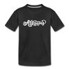 Arkansas Youth T-Shirt - Hand Lettered Youth Arkansas Tee - black