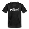 Arkansas Youth T-Shirt - Hand Lettered Youth Arkansas Tee - charcoal gray