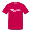 Minnesota Youth T-Shirt - Hand Lettered Youth Minnesota Tee - dark pink