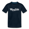 Minnesota Youth T-Shirt - Hand Lettered Youth Minnesota Tee - deep navy