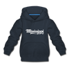 Mississippi Youth Hoodie - Hand Lettered Youth Mississippi Hooded Sweatshirt