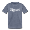 Connecticut Toddler T-Shirt - Hand Lettered Connecticut Toddler Tee