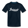 Louisiana Toddler T-Shirt - Hand Lettered Louisiana Toddler Tee