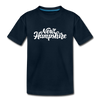 New Hampshire Toddler T-Shirt - Hand Lettered New Hampshire Toddler Tee - deep navy