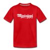 Mississippi Toddler T-Shirt - Hand Lettered Mississippi Toddler Tee