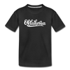 Oklahoma Toddler T-Shirt - Hand Lettered Oklahoma Toddler Tee - black