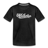 Oklahoma Toddler T-Shirt - Hand Lettered Oklahoma Toddler Tee - charcoal gray
