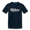 Oklahoma Toddler T-Shirt - Hand Lettered Oklahoma Toddler Tee - deep navy