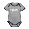 Arkansas Baby Bodysuit - Organic Hand Lettered Arkansas Baby Bodysuit