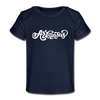 Arkansas Baby T-Shirt - Organic Hand Lettered Arkansas Infant T-Shirt
