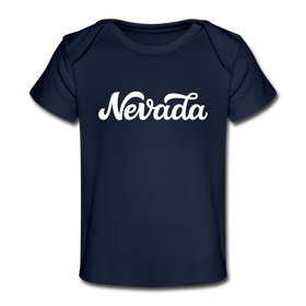 Nevada Baby T-Shirt - Organic Hand Lettered Nevada Infant T-Shirt